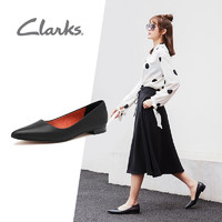 Clarks 其乐 女鞋 Laina15 Pump休闲尖头浅口低跟鞋女 261488624 36