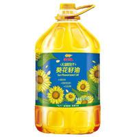 金龙鱼 物理压榨葵花籽油 6.18L