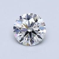 Blue Nile 0.86克拉圆形切割钻石理想切工 | D 级成色 | VS2 净度
