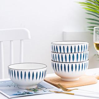ENYI 恩益 日式和风餐具16件碗碟套装