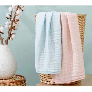 Purcotton 全棉时代 婴儿六层纱布小方巾 2件装 34*35cm