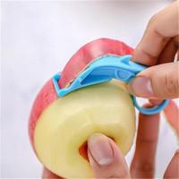 SCNDEWMY 塑料便捷式削水果皮刀 10.5*3.3cm 2个