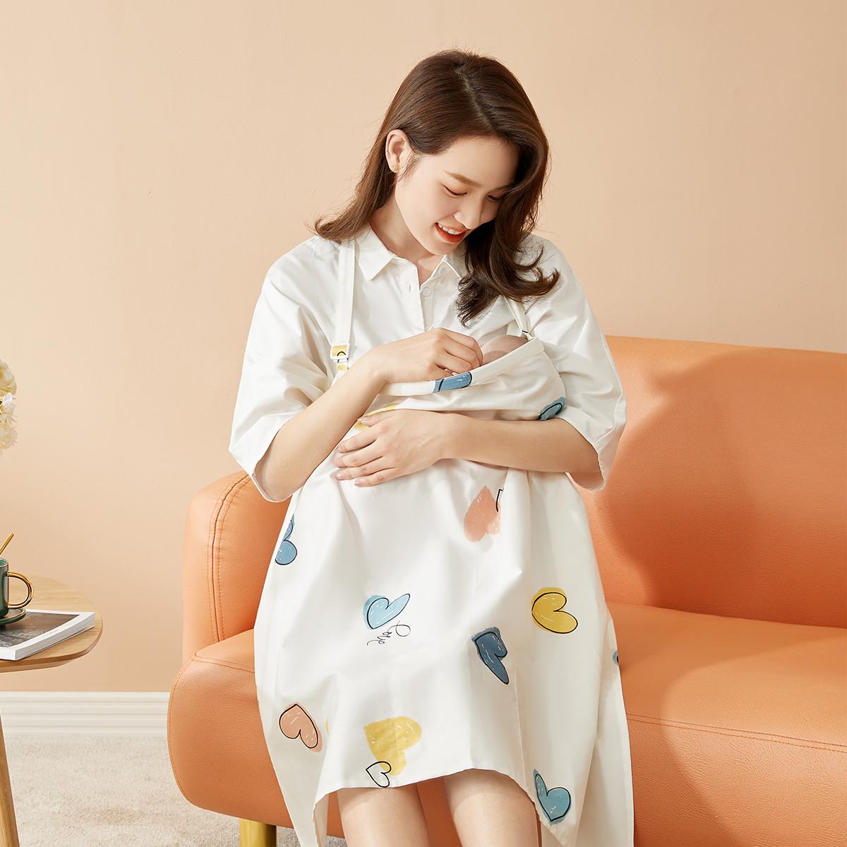 十月结晶 防走光哺乳巾+柔润纸