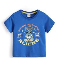 百亿补贴:BoBDoG 巴布豆 中小童纯棉短袖T恤