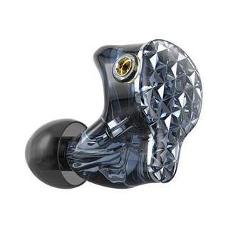FiiO 飞傲 FA9 入耳式挂耳式动铁有线耳机 琉璃黑 3.5mm