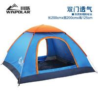 winpolar 260031 自动帐篷 3-4人款 送防潮垫 充气枕*2个