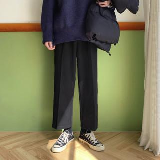 Plinth 男士毛呢休闲长裤 f4152211118