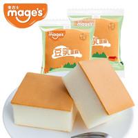 PLUS会员:mage's 麦吉士 豆乳蛋糕 618g*1箱