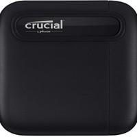 Crucial 英睿达 X6 移动硬盘 500GB