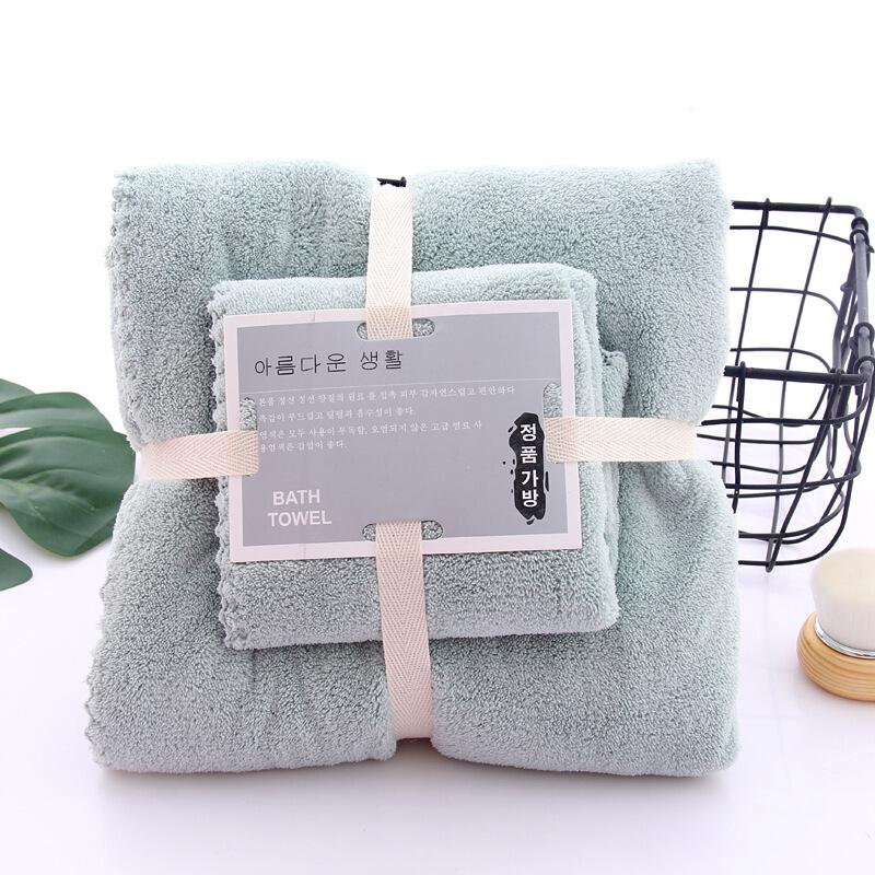 斜月三星 毛巾浴巾套装
