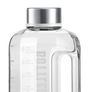 bottled joy 波特的乔伊 ZTK001 塑料运动水壶 2200ml 透明色