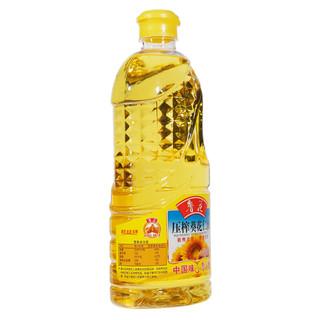 luhua 鲁花 压榨葵花仁油 1.6L
