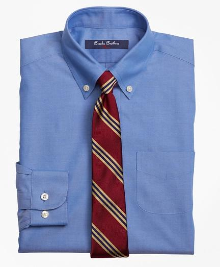 Brooks Brothers 布克兄弟 男生Boys Non-Iron Supima® Pinpoint Cotton Dress Shirt