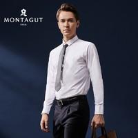 MONTAGUT 梦特娇 1SH420301E 男士纯色商务正装衬衫