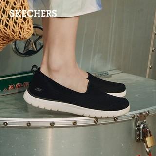SKECHERS 斯凯奇 舒适一脚蹬懒人鞋乐福鞋平底单鞋休闲鞋