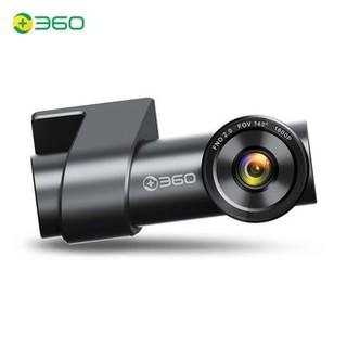 360 行车记录仪K600高清夜视隐藏式电子狗内置32G