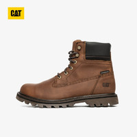 CAT/卡特男DEPLETE WP黑色休闲靴P721724I3BDC09 深棕色 41