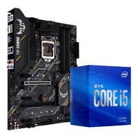 ASUS 华硕 TUF GAMING B460 PLUS ATX主板(intel LGA1200、B460)+英特尔 酷睿i5-10400 CPU套装