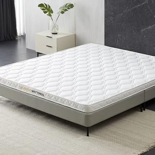 ZUOYOU 左右家私 左右 床垫椰棕垫3E环保棕家用纯棉床褥护脊椎助睡眠1.8m1.5m垫子DCW066 白色 1500mm*2000mm