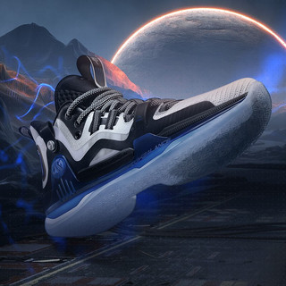 AG1  361度男鞋篮球鞋阿隆戈登AG1初代战靴三态运动鞋防滑减震耐磨实战运动鞋 魔蓝 40
