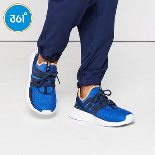 361° 男童鞋运动鞋春季新款防滑透气跑步鞋361度中大童休闲鞋