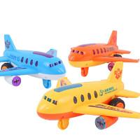 惯性高仿真飞机滑行男玩具
