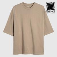 Gap 盖璞 662321CAPPUCCINO 男士宽松T恤