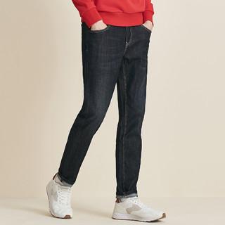 SEPTWOLVES 七匹狼 男士舒适修身牛仔裤