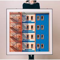 PICA Photo 拾相记 Yener Torun 作品《双份》33 x 33 cm Giclée Art影像工艺 Passepartout内衬装裱 限量50版