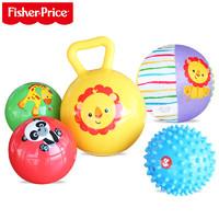 Fisher-Price 费雪 初级训练球套装 婴儿宝宝手抓球