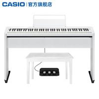 CASIO 卡西欧 官方旗舰店 卡西欧电钢琴PX-S1000智能88键重锤专业演奏考级成人家用儿童初学者蓝牙便携数码钢琴