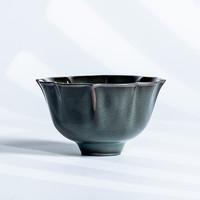 xigu 熹谷 龙泉青瓷 八瓣铁胎杯单杯 75ml