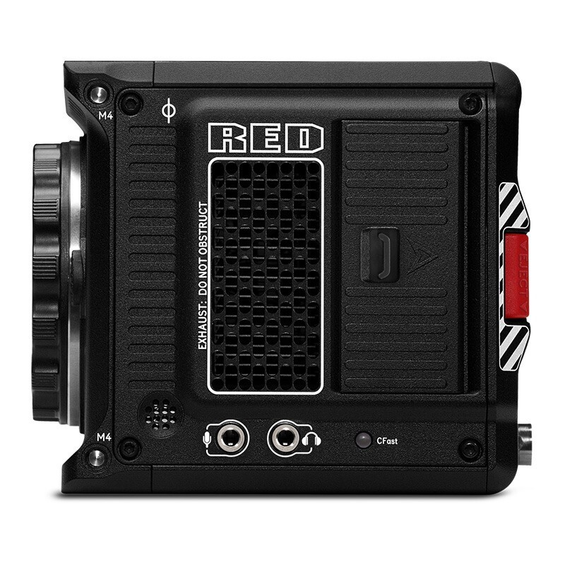 RED Komodo 6K 电影摄像机 黑色 单机身 官方标配
