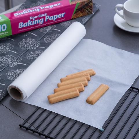 彩龟 家用烘培硅油纸 烤肉蛋糕烧烤牛油油纸烤箱烘培纸卷装10m*30cm
