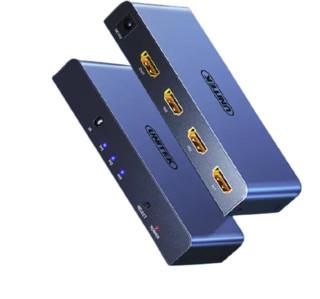 PLUS会员 : UNITEK 优越者 V134A 四进一出 HDMI切换器