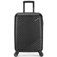 AMERICAN TOURISTER 美旅 拉杆箱 简约时尚男女行李箱超轻万向轮旅行箱密码锁 20英寸 TV7黑色