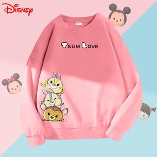 Disney/迪士尼女童休闲卫衣宝宝春装新款时髦上衣外套小学生衣服