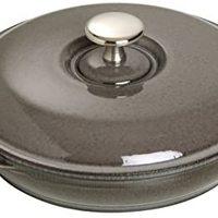 staub 珐宝 Zwilling 双立人 STAUB 珐宝 圆钢铸铁烤箱盘,石墨灰,20厘米