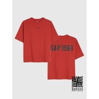 Gap 盖璞 000756195 女装圆领短袖T恤
