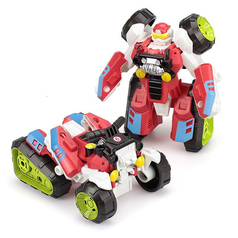 abay 儿童变形金刚玩具摩托车机器人