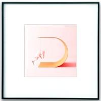 PICA Photo 拾相记 Umberto Daina 《作品幸运之D》33 x 33 cm 艺术微喷 限量50版 尼尔森拉丝金属框木炭黑
