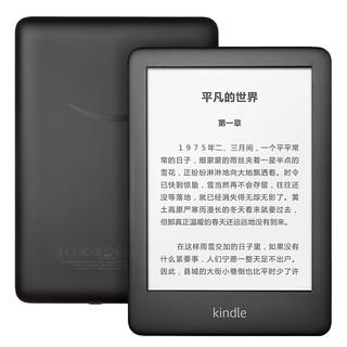 kindle KINDLE 青春款 亚马逊入门版 电子书阅读器6英寸558墨水屏电纸书读书器8G 8G黑色 瑞鹤套装