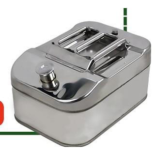 FOGER 福格 汽油桶 加厚 方形 不锈钢 10L