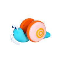 Zhiqixiong 稚气熊 爬行拖动的蜗牛宝宝学步玩具 蓝色