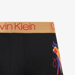 Calvin Klein 卡尔文·克莱 男士平角内裤 NB2785 黑色 S
