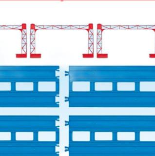 TOMICA 多美卡 152170 多美卡火车复线直轨R04