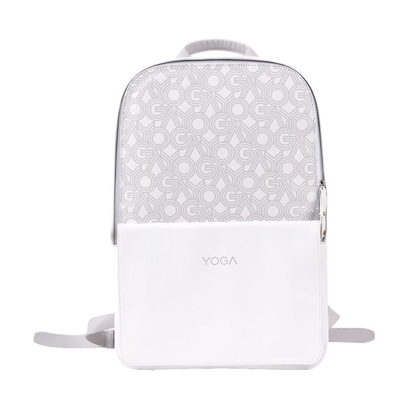 Lenovo 联想 YOGA系列 双肩电脑包 (拿铁白)