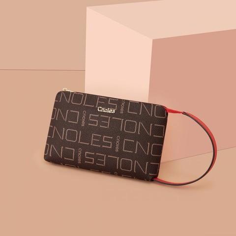Cnoles 蔻一 新品简约时尚女士手拿包手腕包长款钱包女包