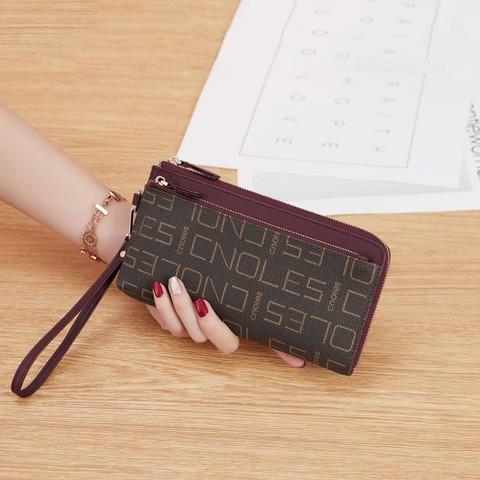 Cnoles 蔻一 新品时尚撞色大容量女士手拿包钱包钱夹女包