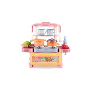 CHILDREN'S TOWN 儿童小镇 厨房可出水仿真过家家玩具